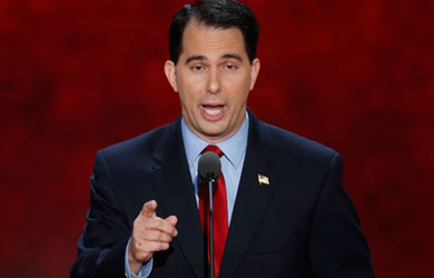 Image for Walker's Failed Record Counters Current Ad's Job Promise