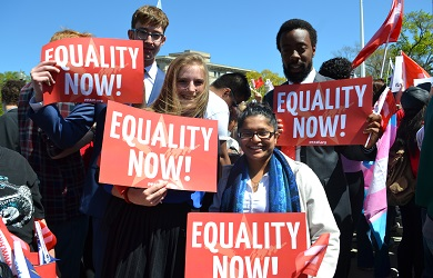 Image for PFAW Foundation Rallies at the Supreme Court for Marriage Equality