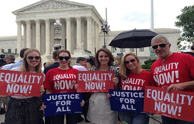 Image for PFAW Foundation Rallies at the Supreme Court for #LoveWins