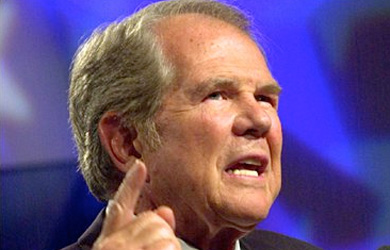 Image for Why Is Jeb Bush Courting Pat Robertson?
