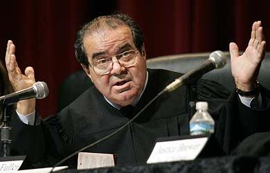 Image for Justice Scalia's Ironic Comments About Democracy