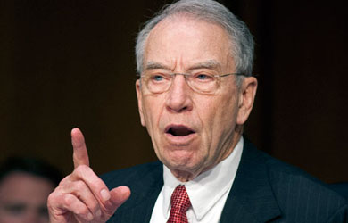 Image for Will Grassley Quit as Judiciary Chair?
