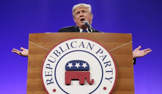 Image for Donald Trump Is Disrupting The Religious Right's Christian-America Dreams