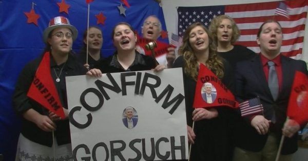 Conservative Group's New Song Aims To Get Neil Gorsuch Confirmed To The Supreme Court