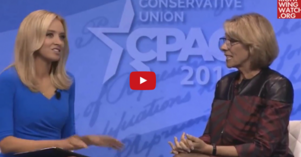 Betsy DeVos And CPAC Attendees Applaud Move To Rescind Protections For Transgender Students