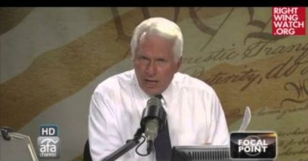 Bryan Fischer's Incoherent Theory Of The First Amendment Grows Even More Bizarre