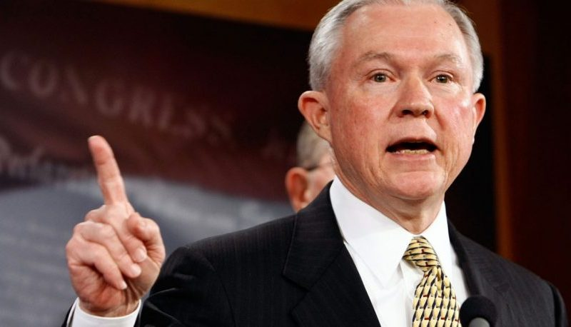 Sessions calls for border wall, end to 'chain migration'
