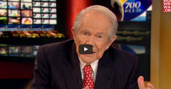 Pat Robertson: People Who Oppose Trump Are Revolting Against God