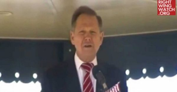 Roy Moore Wins GOP Senate Nomination: His Long History Of Fighting 'False Religion,' 'Criminal Lifestyle' & Pre-K 'Indoctrination'