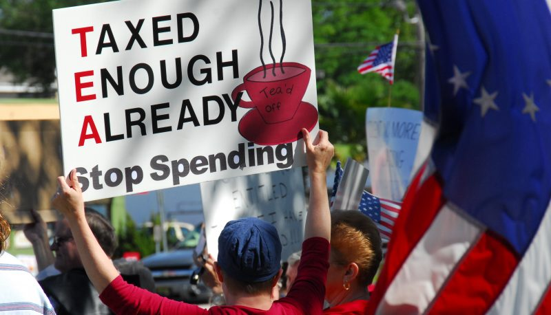 Corporate Infusion: What the Tea Party's Really Serving America