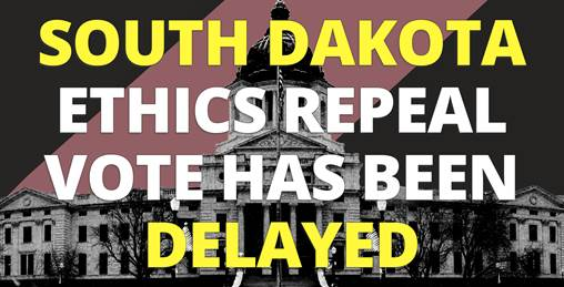 Image for South Dakota Lawmakers Declare 'State of Emergency' to Block Reform