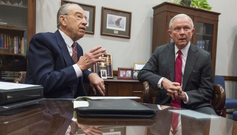 Image for AG Hearing: Grassley's Contempt for His Colleagues & for America
