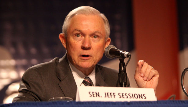 Image for Sessions' Credibility is Shot