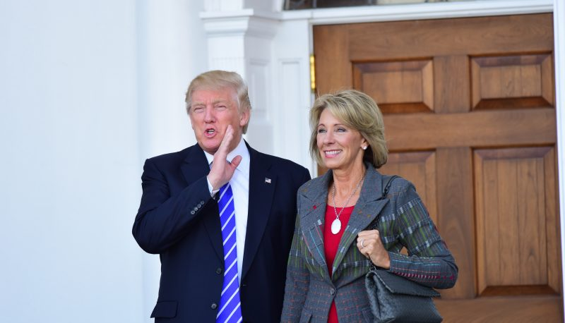 Image for 'Dismal' Voucher Results As DeVos Era Begins