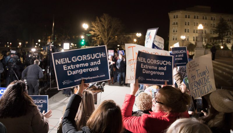 Image for #StopGorsuch: Trump's Nominee Would be a Nightmare for Women