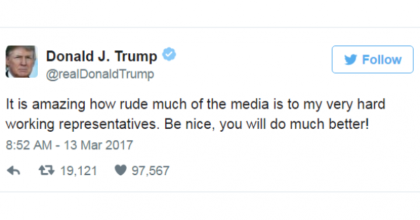 Trump's Attacks on the Media are an Attack on Us All