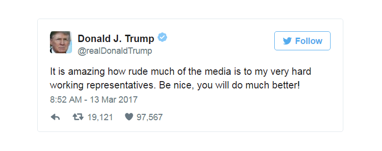 Image for Trump's Attacks on the Media are an Attack on Us All