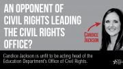 Tell Betsy DeVos to remove Candice Jackson from the Office for Civil Rights.