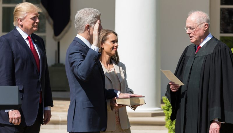 Image for Not Another Gorsuch! The Dangers of Another Trump Justice