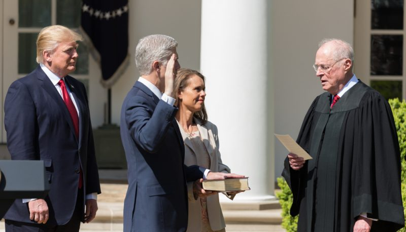 Gorsuch Hears His First Church-State SCOTUS Case