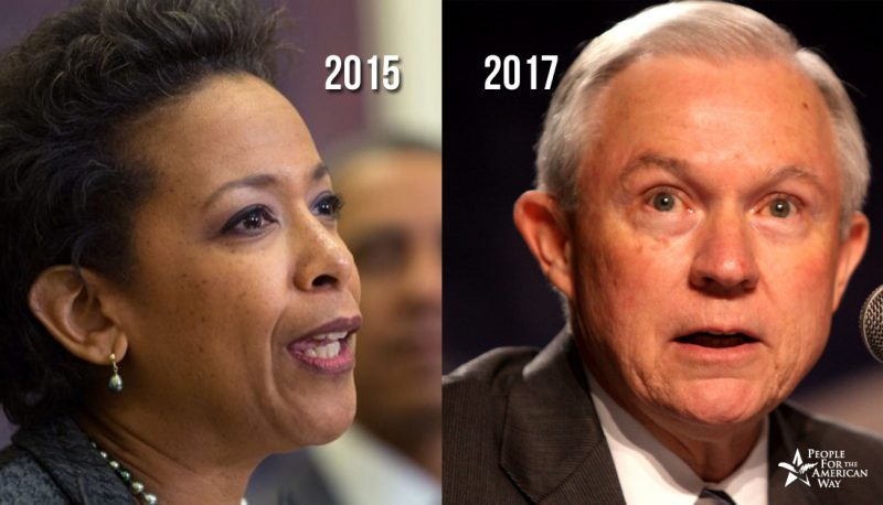 Image for The Changing Face of the Justice Department