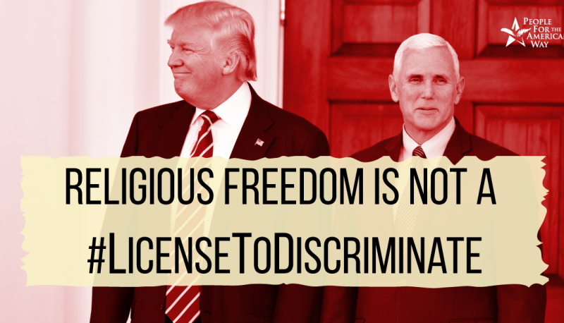 Image for Trump Reportedly Planning To Issue Anti-LGBTQ Executive Order On 'Religious Liberty'