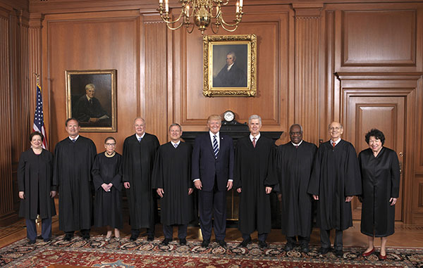 Image for The 2016-2017 Supreme Court Term: Signs of the Storm Brewing