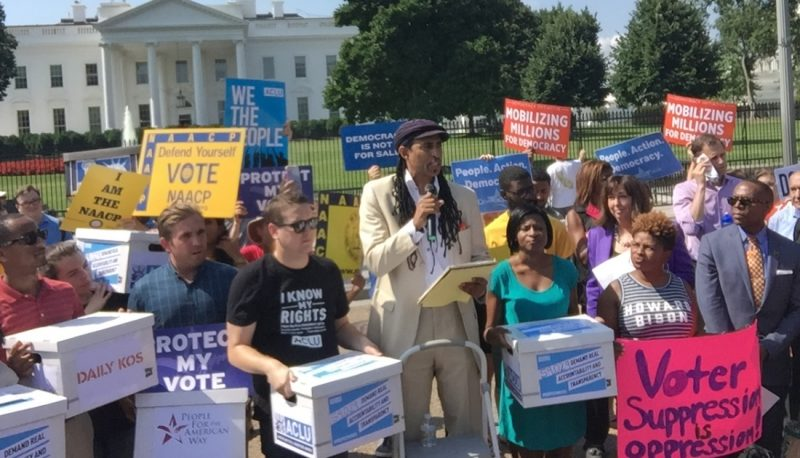 PFAW and Allies Tell Voter Suppression Commission: We will Stop at Nothing to Protect Our Rights