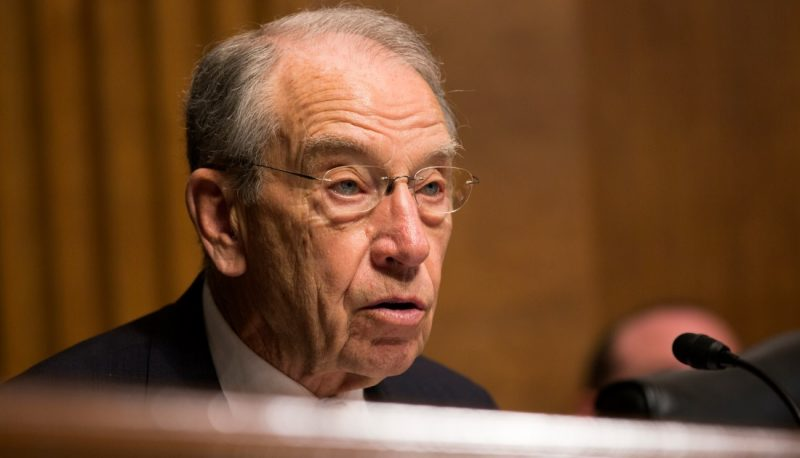 Image for Grassley Tosses Another Precedent Aside to Ram Trump's Judges Through
