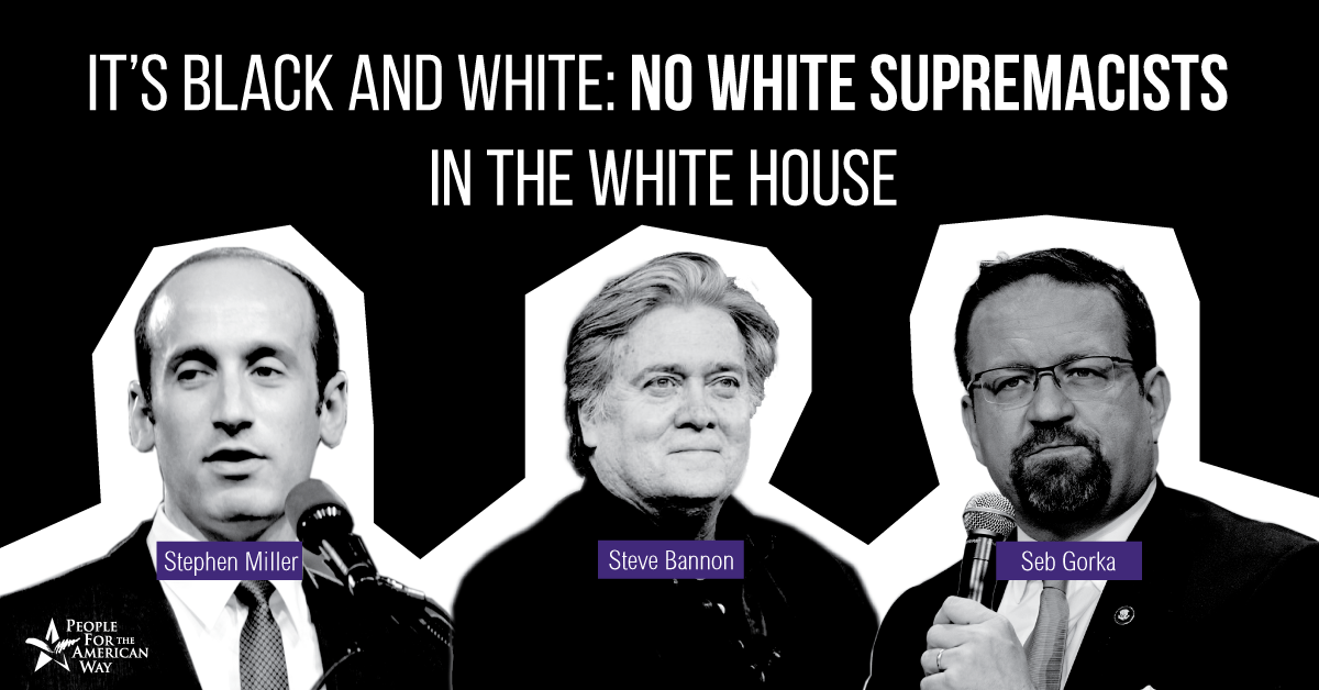 Fire Bannon, Gorka, and Miller