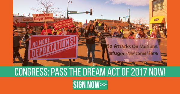Tell Congress: Pass the DREAM Act now!