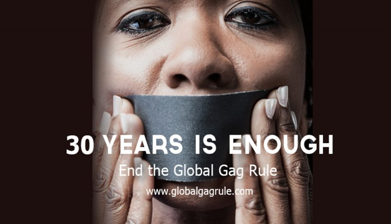 Image for Joint Statement: Groups Urge Careful Monitoring of Global Gag Rule