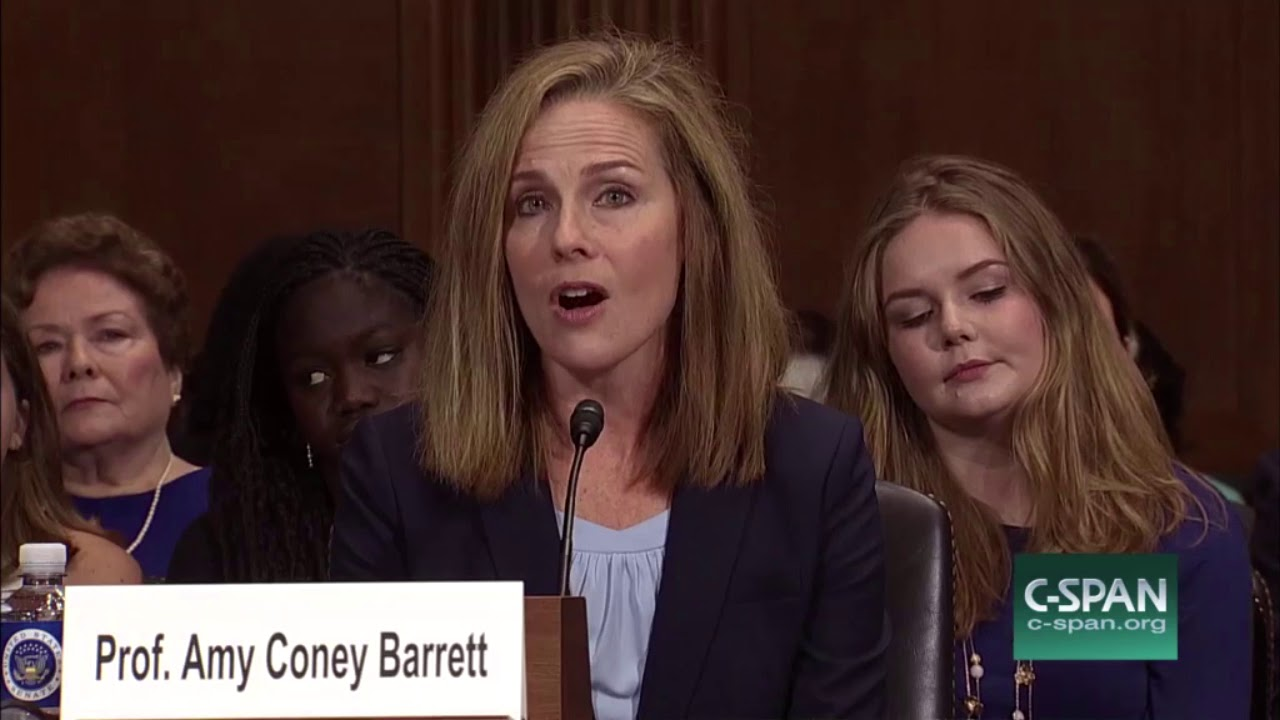 Trump Seventh Circuit Judge Amy Coney Barrett