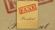 """Richard Serra Donates Series """"Fake President"""" to PFAW Foundation"""