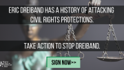 Oppose Eric Dreiband for Assistant Attorney General for Civil Rights!