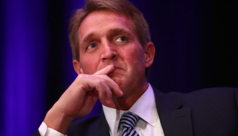 Image for Let's Hold Our Applause for Jeff Flake and Bob Corker