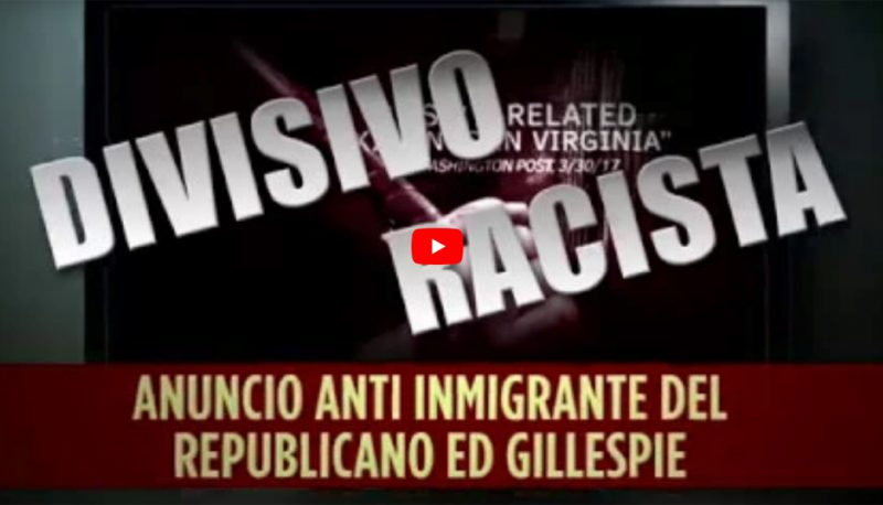 Image for New Latinos Vote! Ad Takes on Ed Gillespie's Anti-Immigrant Attack Ads in Spanish