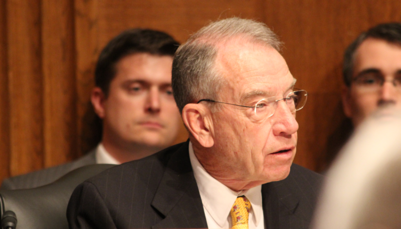 Image for Chuck Grassley's Unprincipled Chairmanship