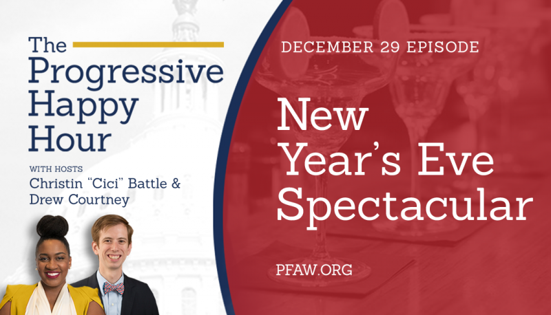Image for The Progressive Happy Hour: New Year's Eve Spectacular