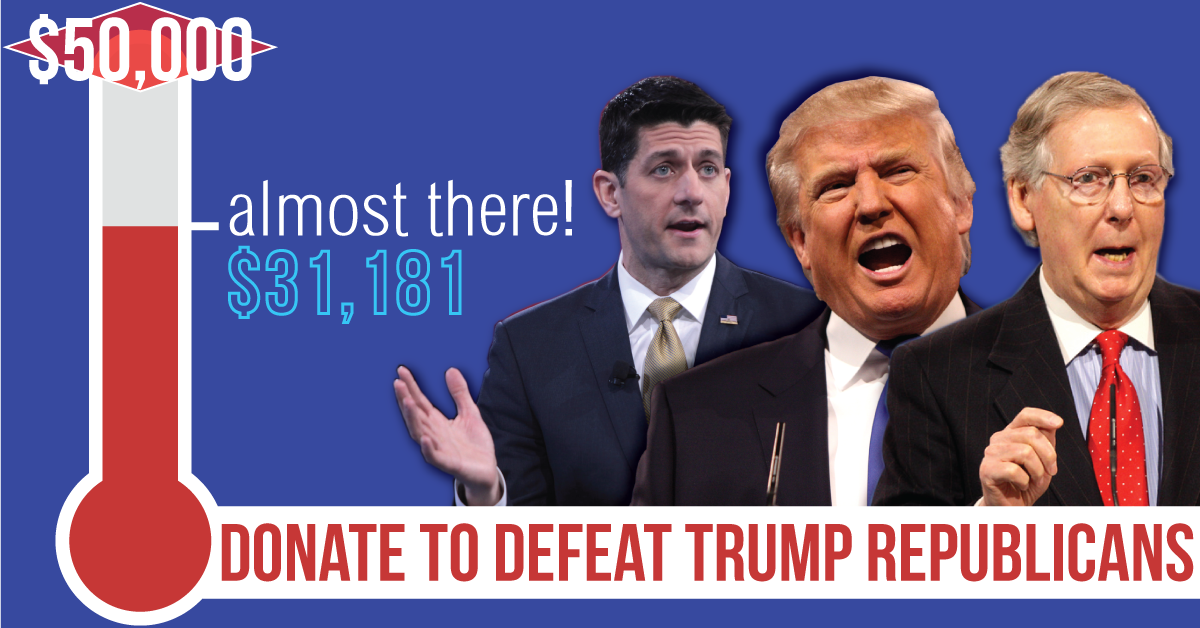 Donate to Defeat Trump Republicans
