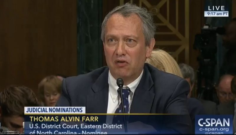 PFAW Calls Out Senators Who Honor Dr. King Then Vote for Thomas Farr