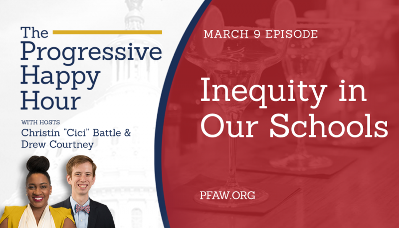 Image for The Progressive Happy Hour: Inequity in Our Schools