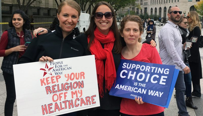 Image for Religious Right's Hypocrisy: Freedom of Speech Unless You're Pro-Choice
