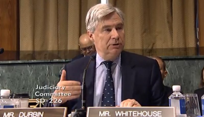 Image for Senator Sheldon Whitehouse Joins PFAW Telebriefing on Disastrous Record of Trump's Judicial Nominees