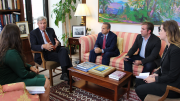 Senator Whitehouse and Congressman Cicilline Join PFAW to Discuss the DISCLOSE Act and Big Money in Politics
