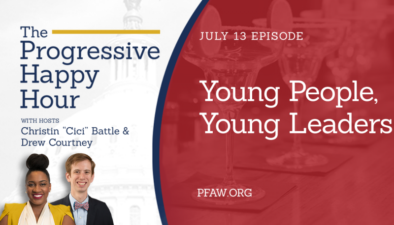 Image for The Progressive Happy Hour: Young People, Young Leaders