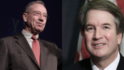 What's Behind Chuck Grassley's Rush to Confirm Brett Kavanaugh? Corruption.