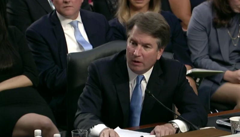 Image for Why Brett Kavanaugh's Excuse for His 2003 Email on Roe Doesn't Work