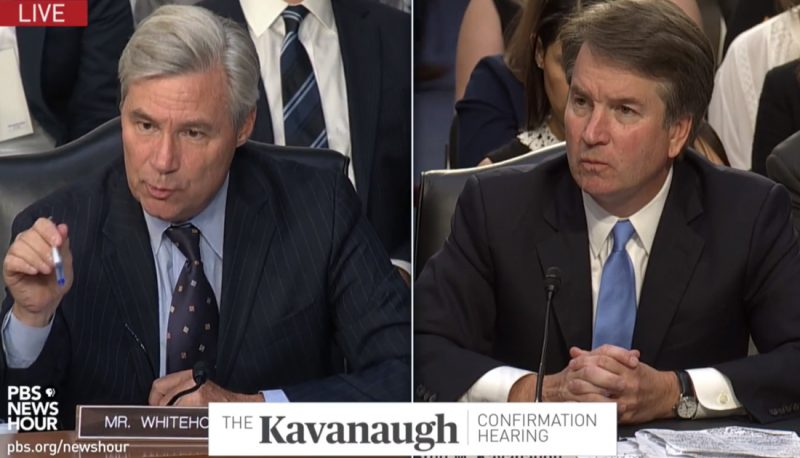 Image for Second Day of Kavanaugh Questioning Makes Even More Clear His Troubling Views on Presidential Power