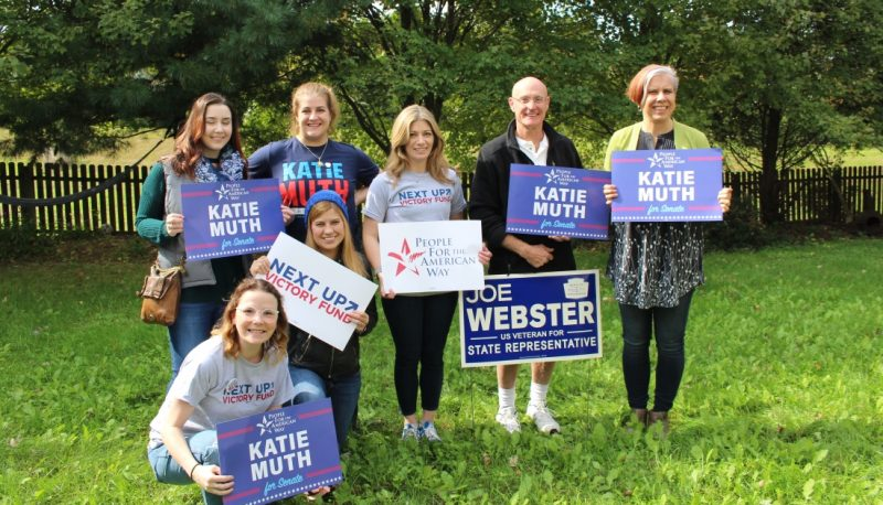 Image for As Election Nears, PFAW Galvanizes Vote for Katie Muth in Pennsylvania